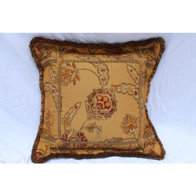 20th Century Italian Mediterranean Down Pillow For Sale - Image 9 of 9
