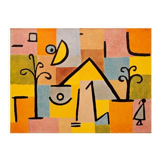 "1958 Paul Klee ""Oriental-Sweet"", First English Edition Lithograph For Sale"