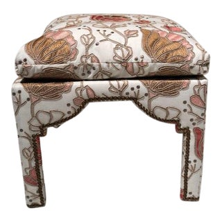 Charlotte Moss Donna Bench for Century Furniture For Sale