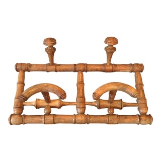 1920's English Coat and Hat Rack