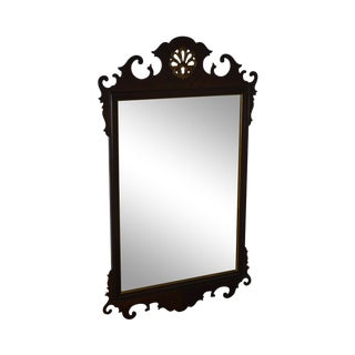 Drexel 18th Century Classics Mahogany Chippendale Style Wall Mirror For Sale
