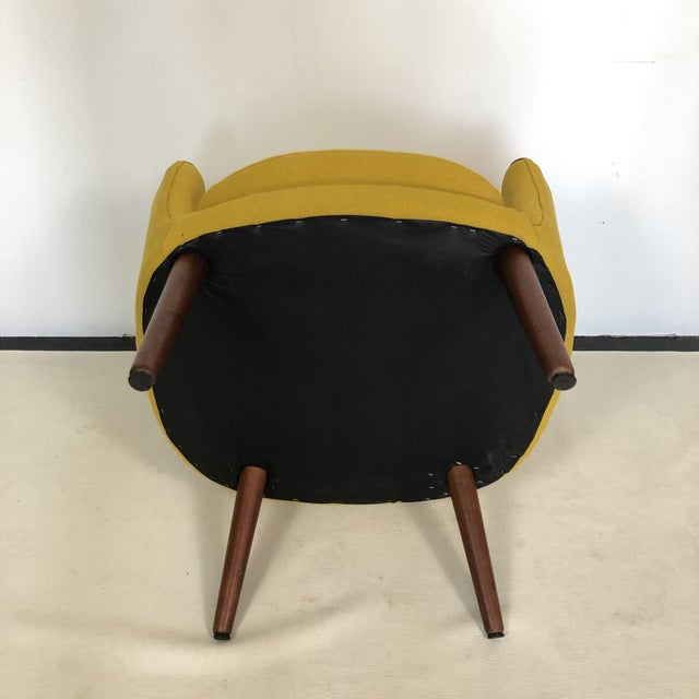 Kurt Orstervig for Rolschau Mobelfabrik Lounge Chair For Sale - Image 11 of 12