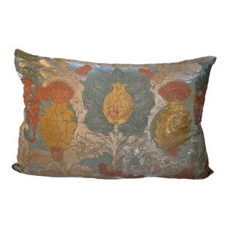 Cardus Flower Silk Velvet Pillow Cover For Sale
