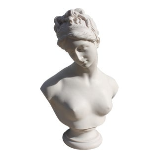 Vintage English Female Bust For Sale