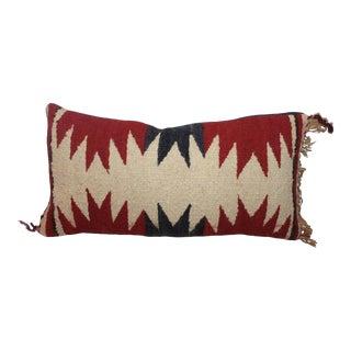 Geometric Navajo Weaving Lumbard Pillow For Sale