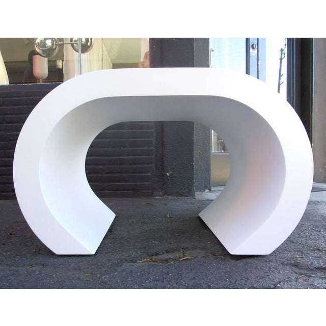 White Scroll Coffee Table or Side Table - Image 8 of 8