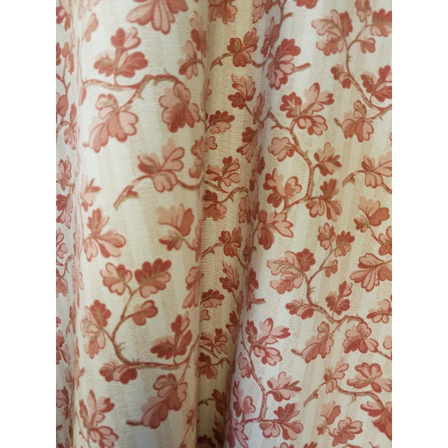 Offered for sale is 3.25 yards of a charming vintage fabric from the English company Ramn and Sons. A cotton print of a...