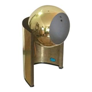 Mid-Century Modern Brass Orbital Lamp
