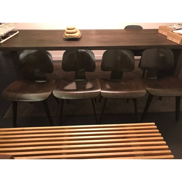 Eames Molded Plywood Dcw Dining Chairs - Set of 4 - Image 3 of 9