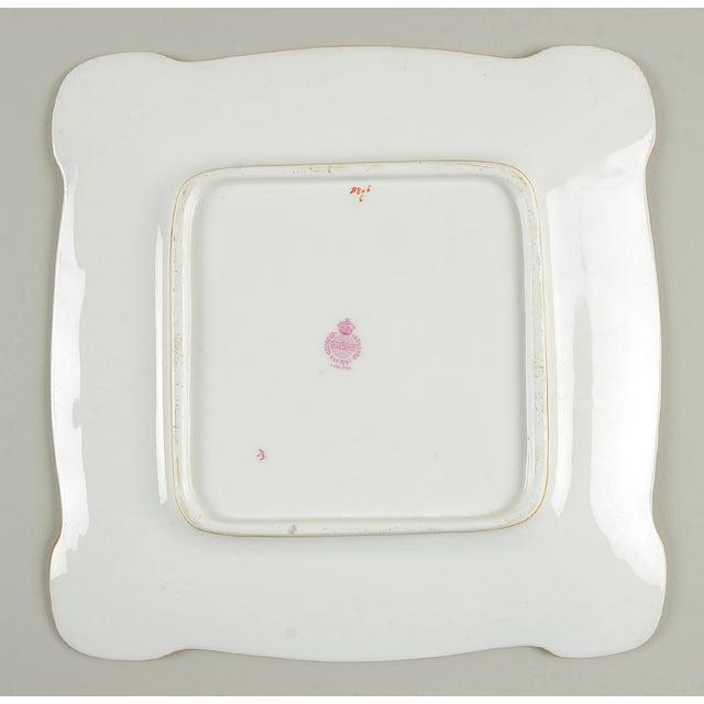 Minton Minton Square Serving Platter (Pattern # B806 ) For Sale - Image 4 of 6