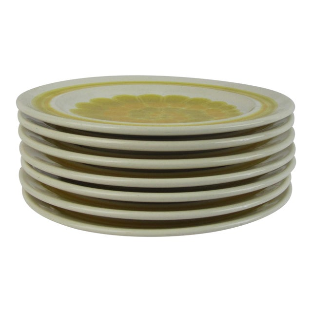Franciscan Earthenware Salad Dishes - Set of 7 For Sale
