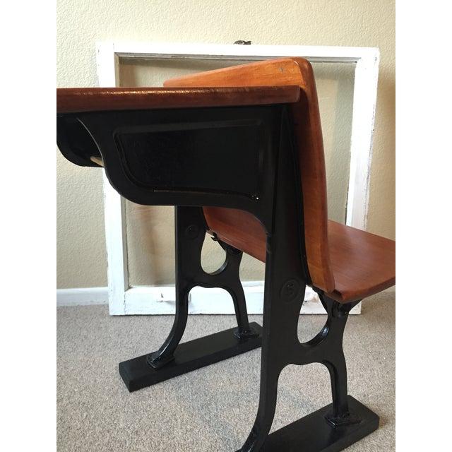 Restored Antique School Desk | Chairish