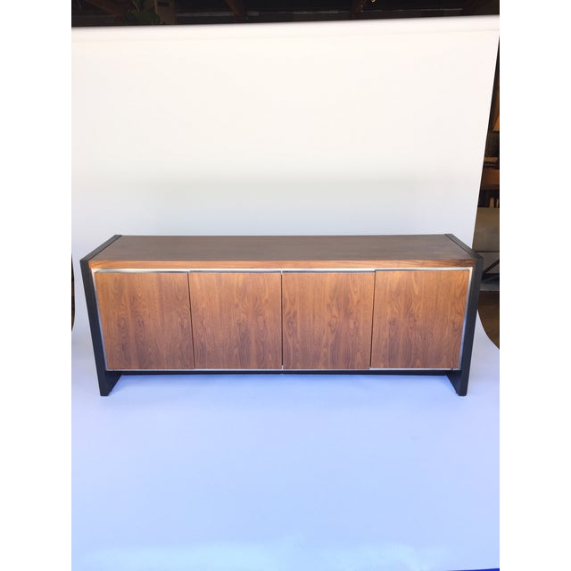 Milo Baughman for Dillingham Walnut Credenza - Image 2 of 6