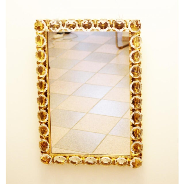 Vintage crystal mirror by Bakalowits & Sohne For Sale - Image 11 of 11