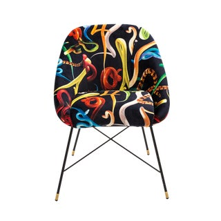 Seletti, Snakes Padded Chair, Toiletpaper, 2018 For Sale