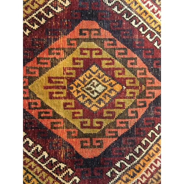 "Bellwether Rugs Vintage Turkish Oushak Rug - 4'1""x8'11"" - Image 4 of 9"