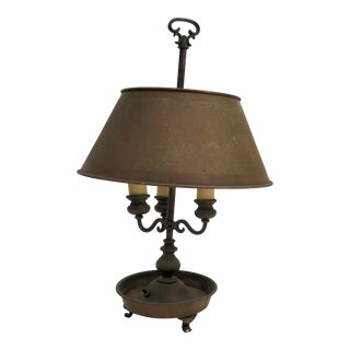 Antique French Bouillottte Lamp