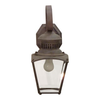 Metal Outdoor Lantern Sconce
