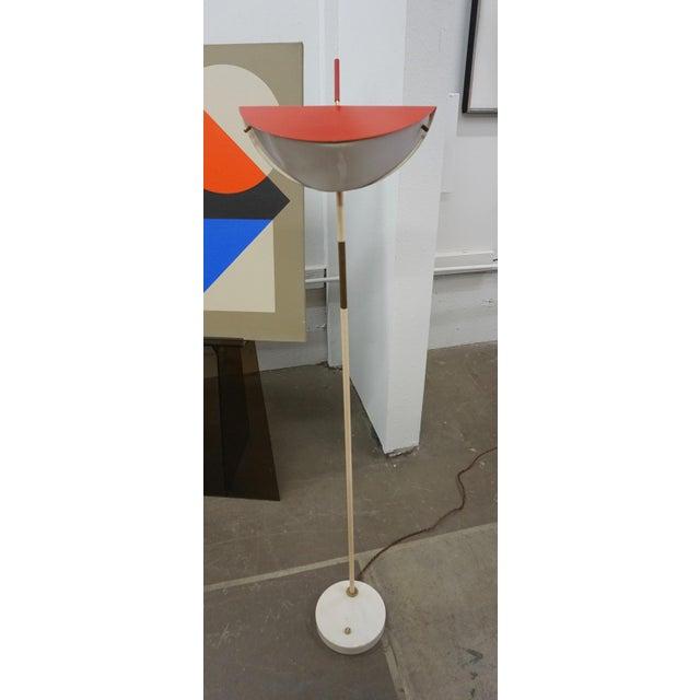 1950s Mid-Century Modern Italian Floor Lamp For Sale - Image 4 of 9