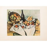 """Image of 1950s Paul Cezanne """"Still Life With Basket of Apples"""", 1st Edition Lithograph For Sale"""
