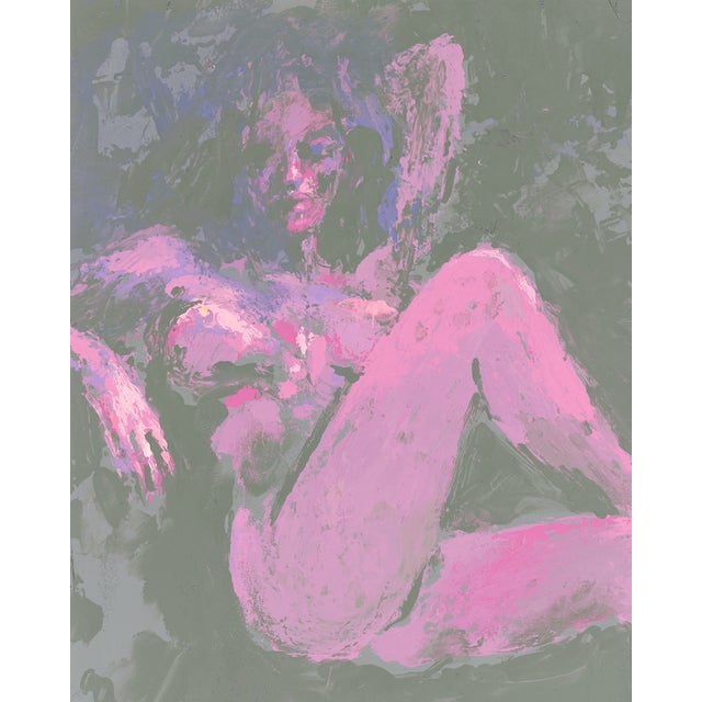 Illustration Playboy Nude by LeRoy Neiman For Sale - Image 3 of 6
