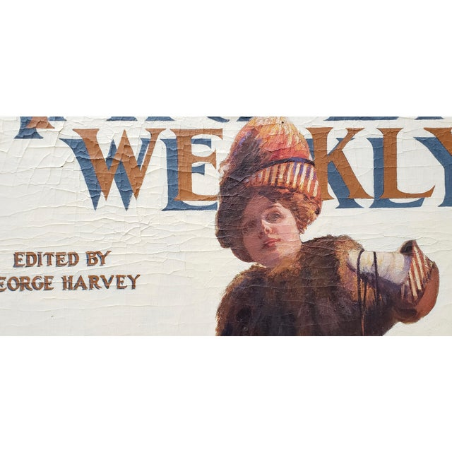 "White George Watson Barratt (American, 1884-1962) ""Harpers Weekly"" Original Illustration C.1912 For Sale - Image 8 of 11"