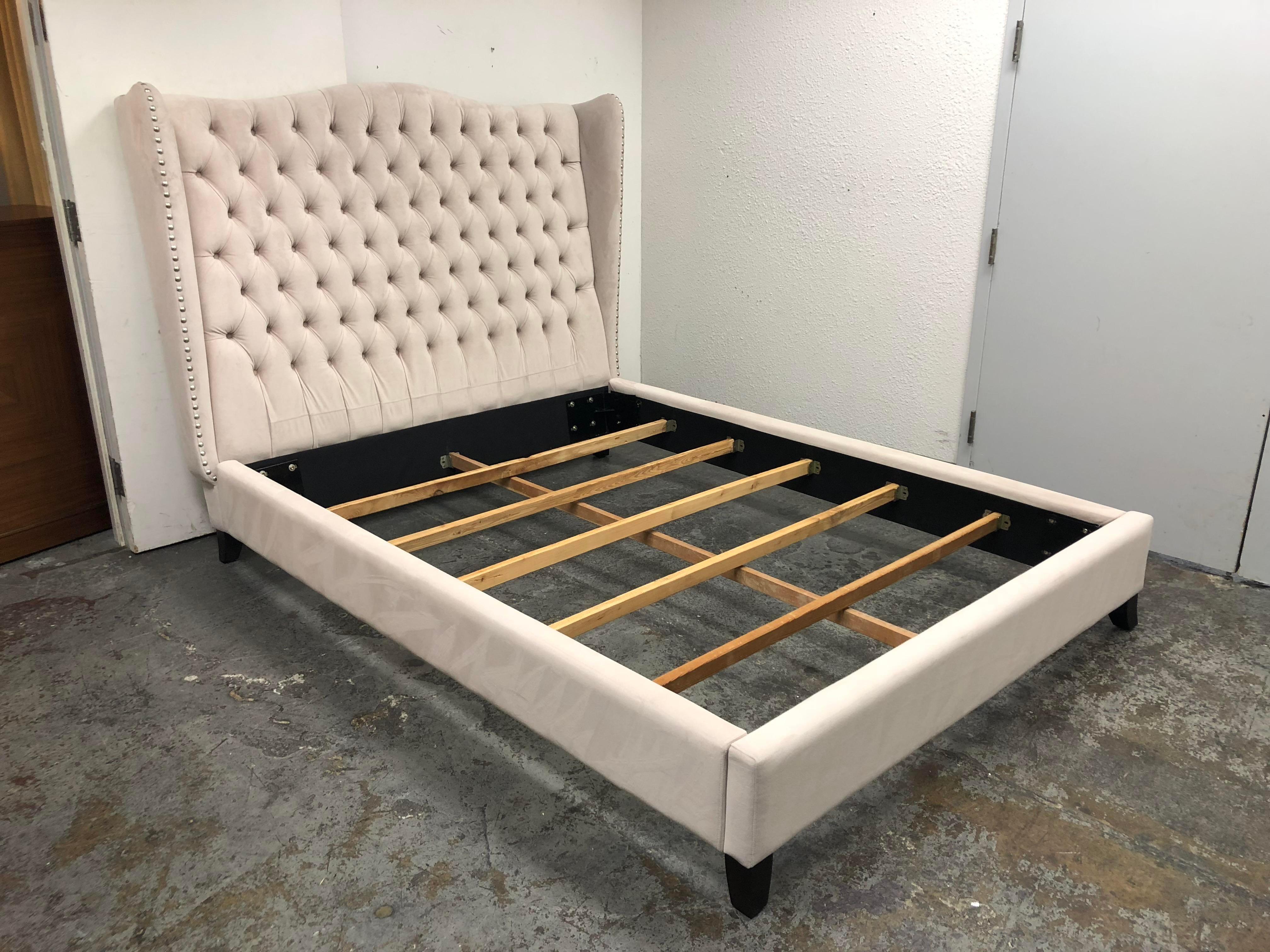 Z Gallerie Queen Size Jameson Bed Frame Chairish