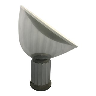 Mid Century Taccia Lamp Italy by Achille and Pier Giacomo Castiglioni, Flos For Sale