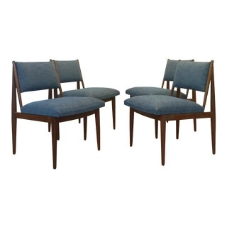 Vintage Drexel Heritage Mid-Century Dining Chairs - Set of 4 For Sale