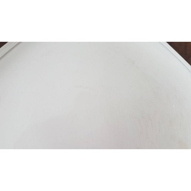 20th Century Italian Neoclassic Style White Ceramic Soup Tureen, 1920s For Sale - Image 6 of 7