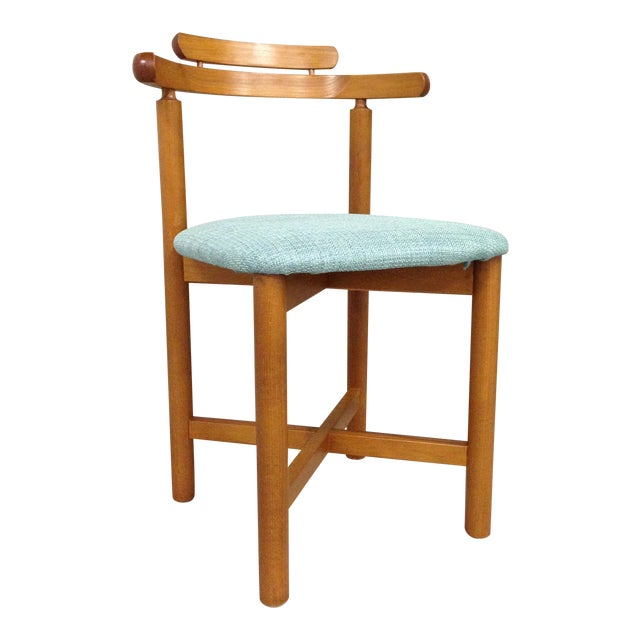 Vintage Danish Mid Century Modern Dining Chair - Image 1 of 9