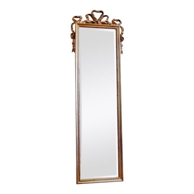 Carolina Mirror Company Gilt Wall Mirror For Sale