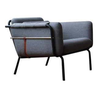 """Modern David Rockwell for Stellar Works """"Valet"""" Club Chair For Sale"""