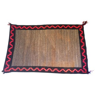 Authentic Vintage Navajo Rug - 2′7″ × 4′3″ For Sale