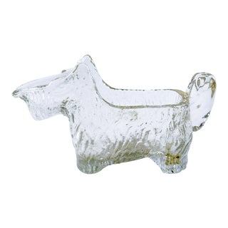 Scottie Dog Glass Creamer For Sale