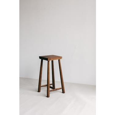 Modern Low Rung Stool by Blackcreek Mercantile Trading & Co. For Sale - Image 3 of 5