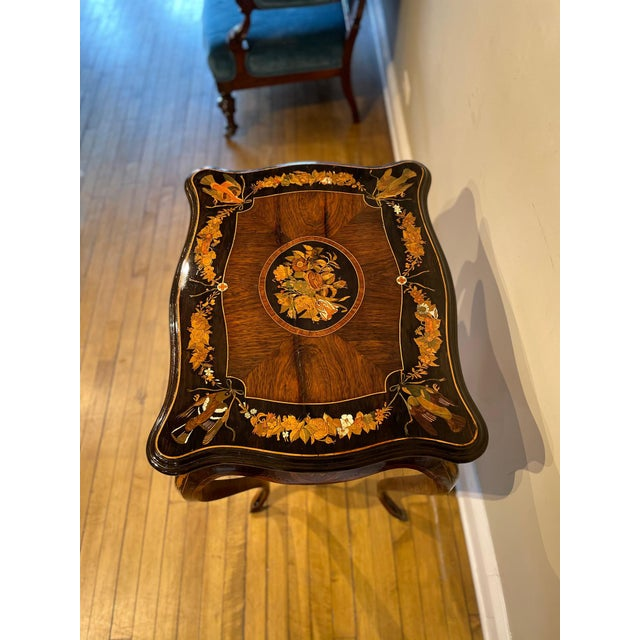 19th Century 19th Century French Side Table For Sale - Image 5 of 13