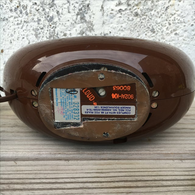 Midcentury Western Electric Donut Touch Tone Phone - Image 7 of 7