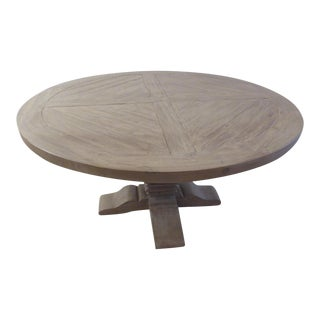 Restoration Hardware Round Dining Table For Sale