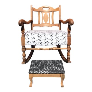 """Moony"" Rocking Chair For Sale"