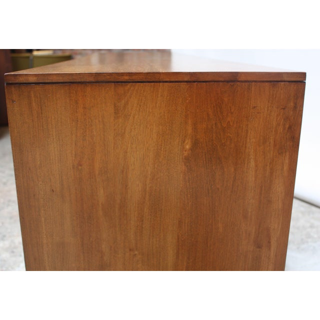 Milo Baughman for Murray Eight-Drawer Chest in Maple and Iron For Sale - Image 9 of 13