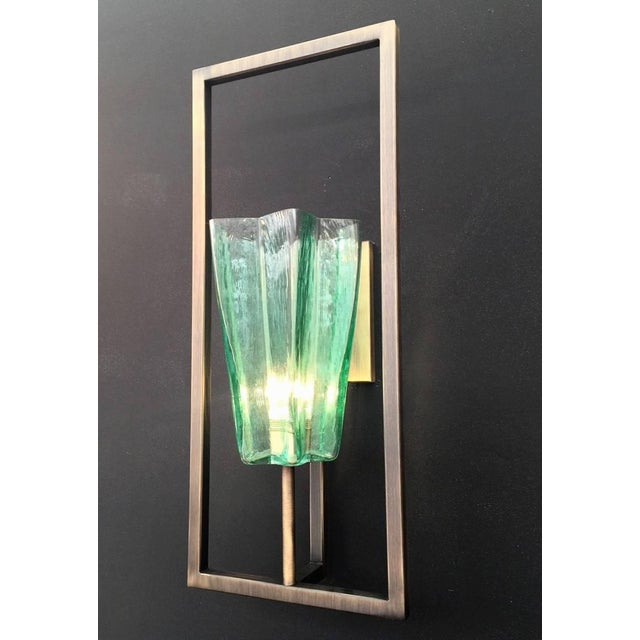 Fabio Ltd Architectural Star Sconces by Fabio Ltd (8 Available) For Sale - Image 4 of 9
