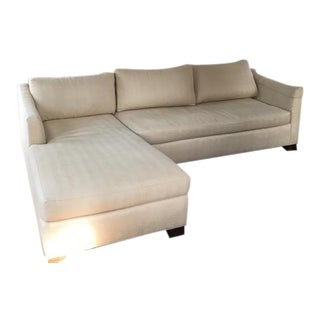 Sherrill Custom Left Arm Chaise Sectional Sofa