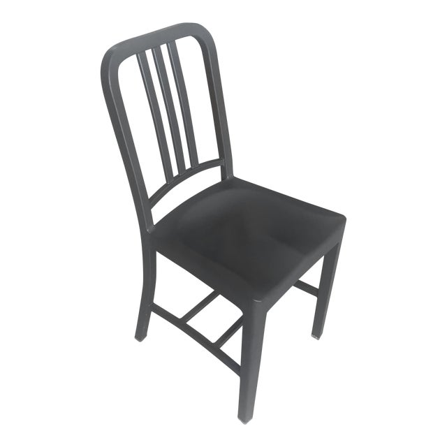 Emeco 111 Gray Navy Chair For Sale
