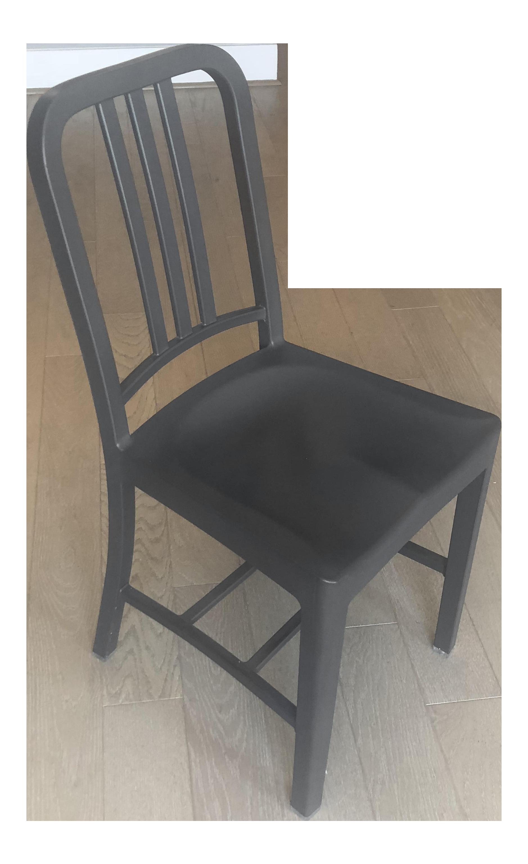 Emeco 111 Gray Navy Chair