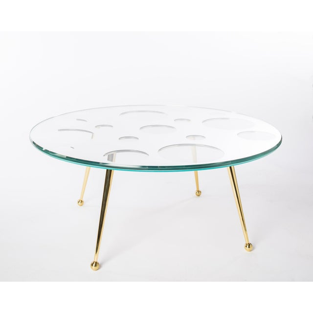 2010s Holy Mirror Coffee Table by Artist Troy Smith - Contemporary Design - Artist Proof - Custom Furniture For Sale - Image 5 of 8