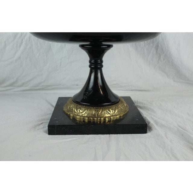 Mid 20th Century Vintage Mid-Century Marble Urn For Sale - Image 5 of 8