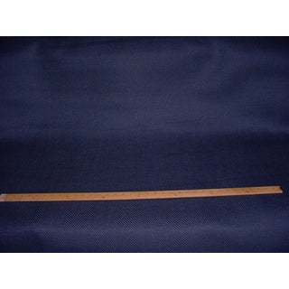 6-1/8y Ralph Lauren Lcf66625f Franklin Herringbone Baltic Blue Upholstery Fabric For Sale