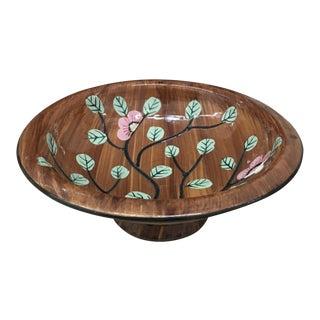 Vintage Floral Italian Bowl