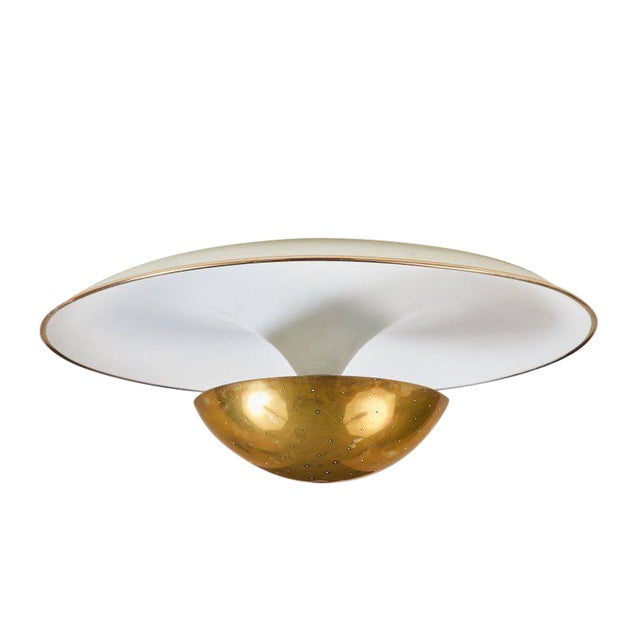 1950s Gino Sarfatti Ceiling Lamp Model #155 for Arteluce For Sale